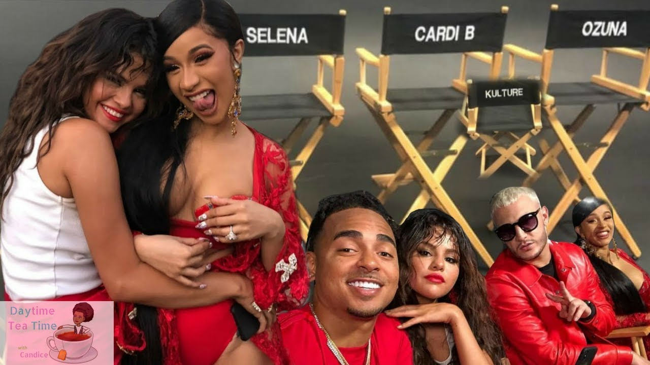 CARDI B NEW MUSIC Video with Selena Gomez, Ozuna, and DJ Snake | NEW SONG ALERT! Behind the scenes! #1
