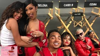 CARDI B NEW MUSIC Video with Selena Gomez, Ozuna, and DJ Snake | NEW SONG ALERT! Behind the scenes!
