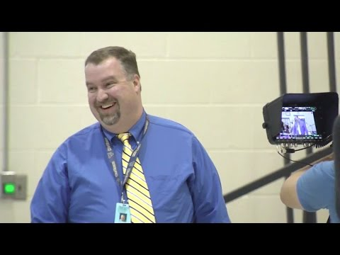 """Awesome"" WV Principal Ernie Adkins Stunned by Milken Educator Award"