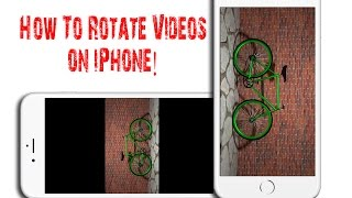 How to rotate iPhone videos from Portrait to Landscape using iMovie