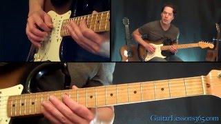 Paranoid Guitar Lesson - Black Sabbath - Famous Riffs