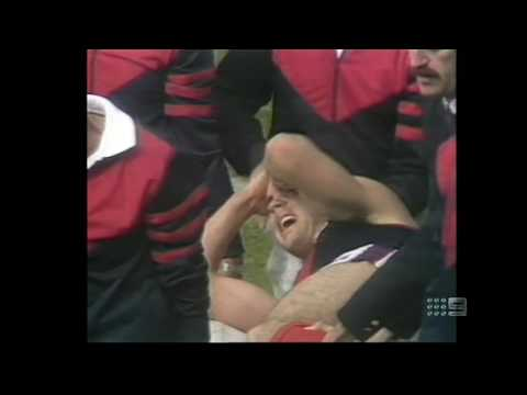 AFL Footy Show   Garry On The Stretcher II