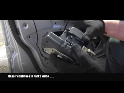 Mercedes Bouncing Door Lock Actuator Repair Part 1 Youtube