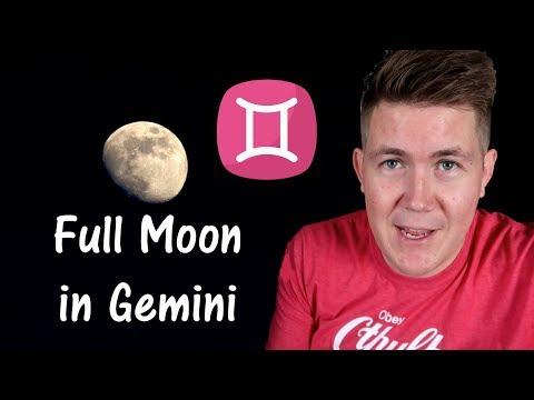 Full Moon in Gemini 23 November 2018 | Gregory Scott Astrology Mp3