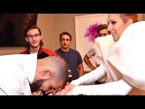 "Drake ""Promises Celine Dion A Tattoo Backstage Billboard Music Awards"""