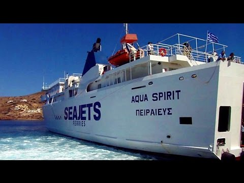 How is Ferry Travel in GREECE? The Journey to Santorini