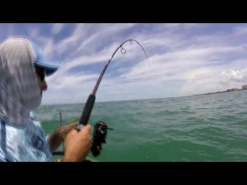 FFF - INSANE OFFSHORE FISHING IN A JON BOAT - FISH ON!!!