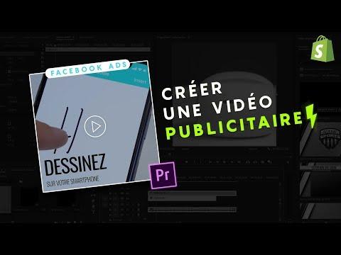 🚀 COMMENT CREER UNE VIDEO PUBLICITAIRE FACEBOOK QUI CARTONNE SUR PREMIERE PRO ! DROPSHIPPING