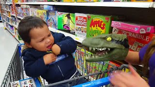 Baby and Animals Toy Fun and Fails