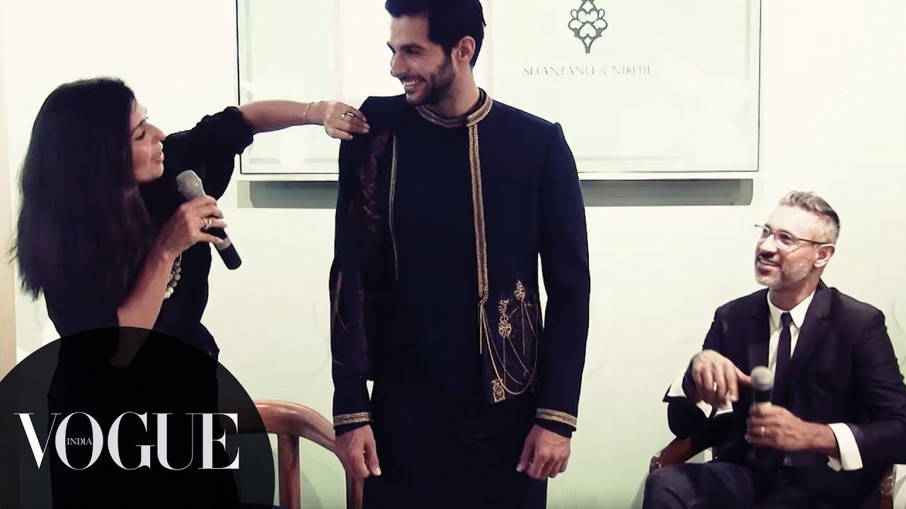 Vogue Wedding Show 2016 Groom Studio With Nikhil Mehra India You