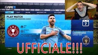 PROVA UFFICIALE FIFA 18 DEMO !!!