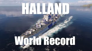 Halland - Damage World Record