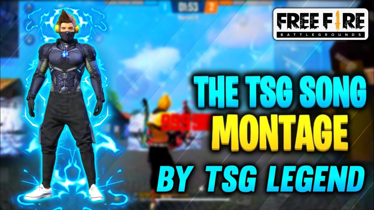 THE TSG SONG || MONTAGE BY TSG LEGEND 💥 || ONE TAP BOLTE 🔥