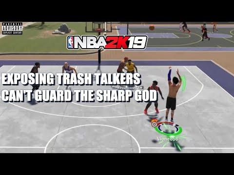 EXPOSING TRASH TALKERS IN NBA 2K19|BEST PURE SHARP IS UNBEATABLE