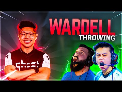 WARDELL IS THROWING!!! (Feat. Stewie2k, n0thing, Wardell and Ahrora)