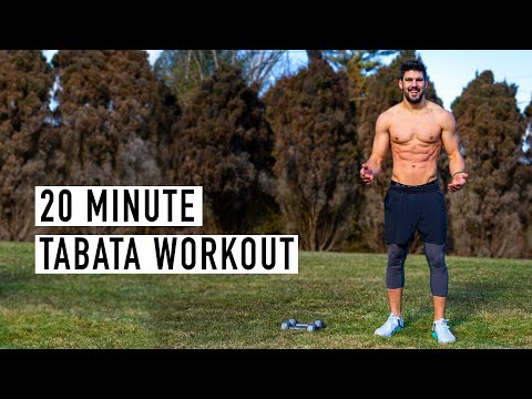 20-Minute | Full-Body Tabata Workout (w/ Warm-Up) | Ash Crawford