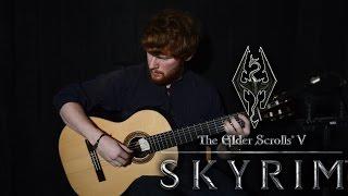 The Elder Scrolls V: Skyrim Main Theme (Sons of Skyrim) Guitar Cover + TABS   CallumMcGaw