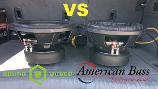 SoundQubed HDS3.1 vs. American Bass E-1244 | Are They the Same Sub?