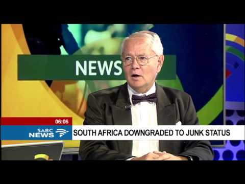 Prof. Jannie Rossouw on South Africa being downgraded to junk status