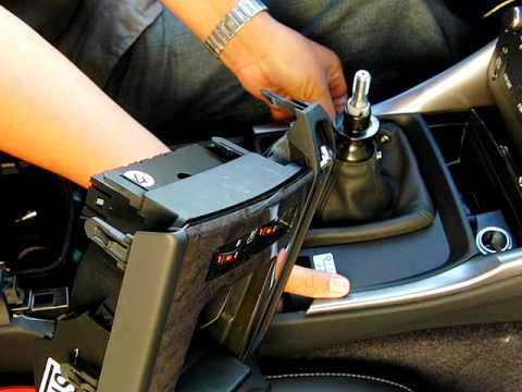 Beautiful DIY Lexus 2009 IS250 Manual   Removing Center Console   YouTube