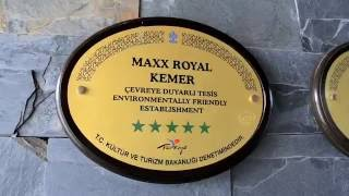 MAXX ROYAL KEMER RESORT 5*, Кемер, Турция 2016 (обзор отеля)