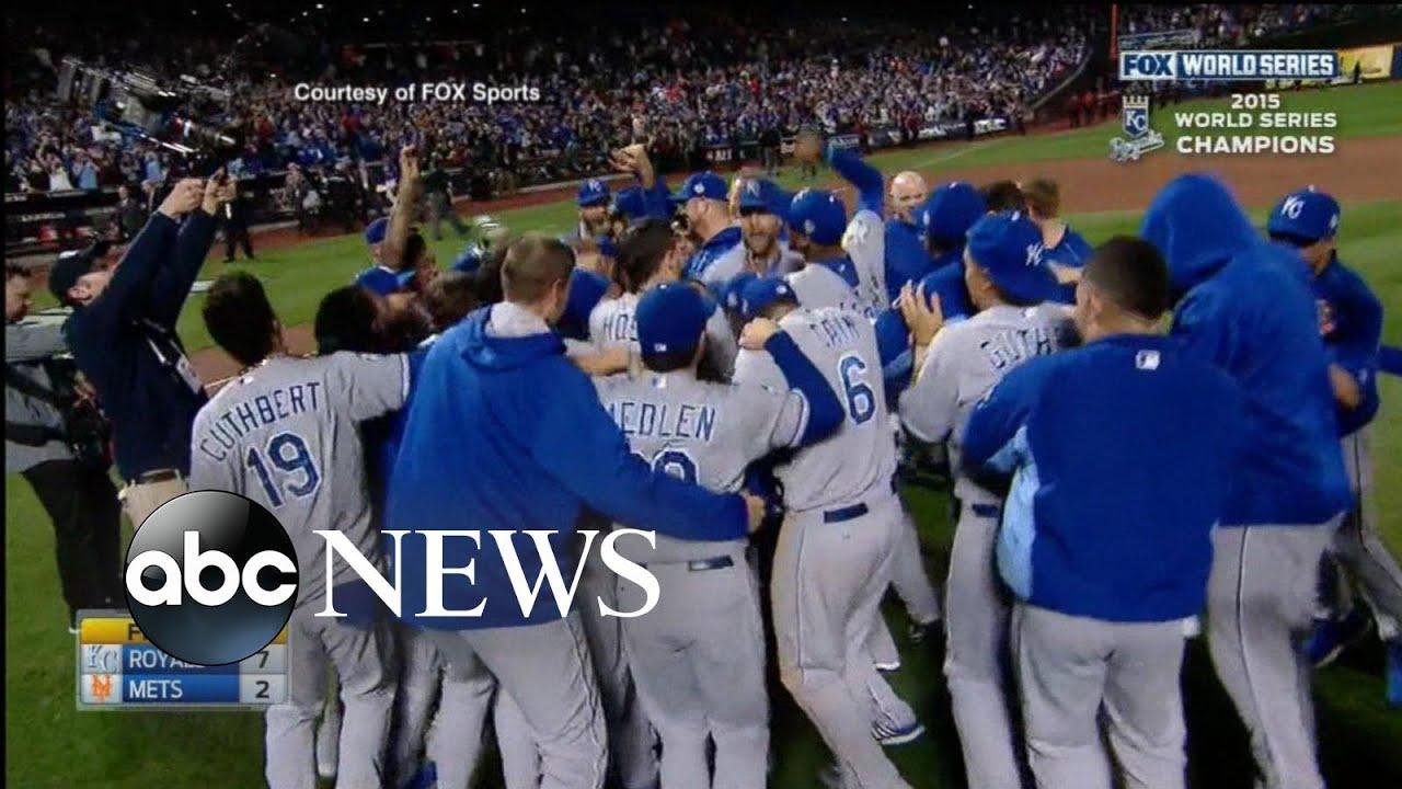 Kansas City Royals Win the World Series