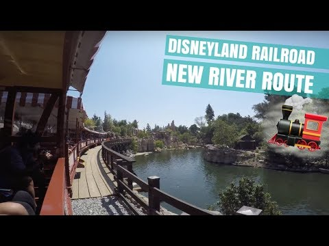 Experiencing New Things at Disneyland: New Railroad River Route, Canoeing, Monorail & More!