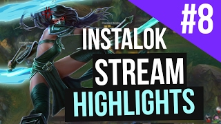 Repeat youtube video Instalok Stream Highlights #8 (League of Legends)