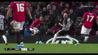 Rashford Goal Outstanding Touch By Young Man Utd 3 Partizan 0