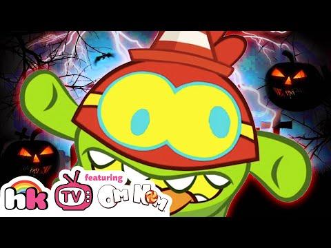 Best Of Om Nom Stories S9 Ep10: The Halloween Ghost | Cartoons For Children By HooplaKidz TV