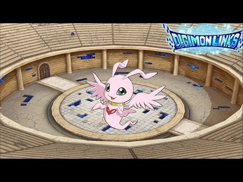 [Digimon Links] Showcasing Marineangemon In The Colosseum!!!