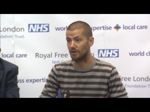 British Ebola survivor discusses his care