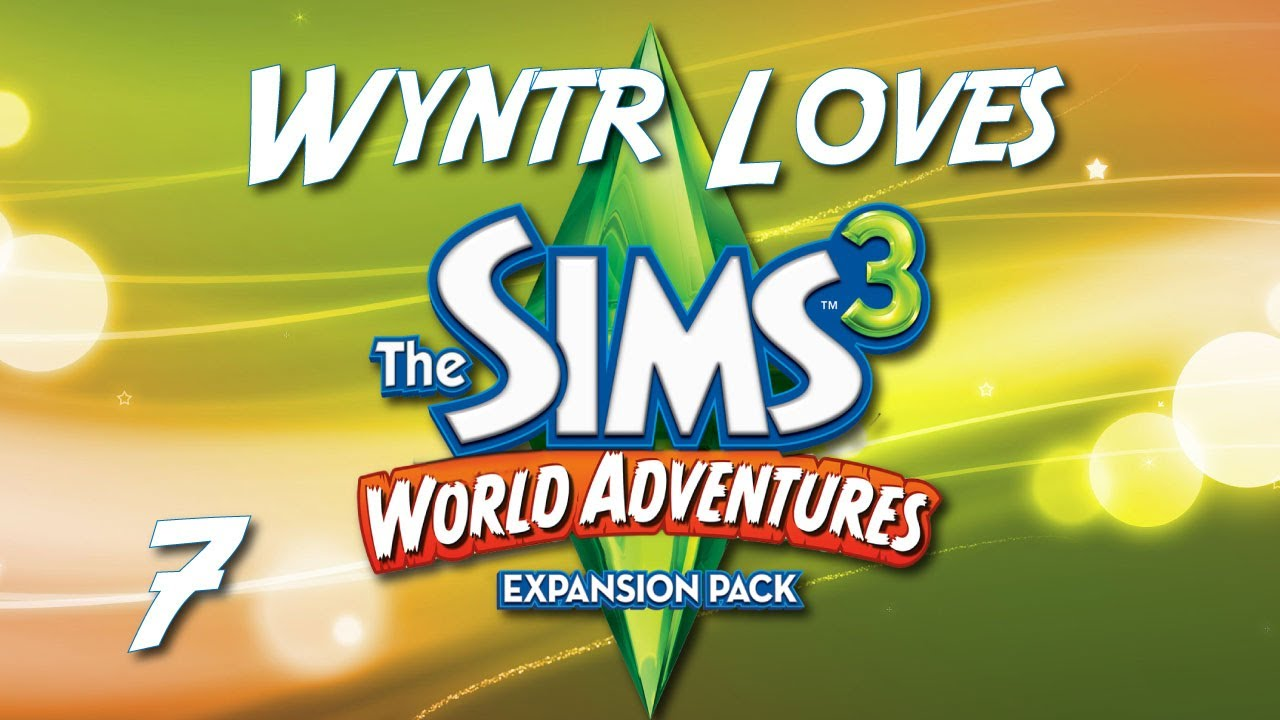 wyntr loves the sims 3 world adventures e7 the relic of life youtube