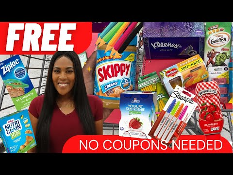 FREE FOOD & FREE SCHOOL SUPPLIES! NO COUPONS NEEDED Ibotta Back To School FREEBIES 100% CASH BACK!