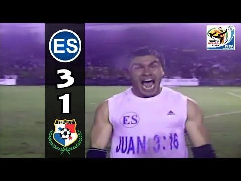 El Salvador 3 Vs Panama  2008 Wcq2010 Highlights
