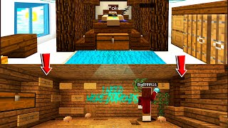 CREEPY ROOMMATE Was OBSESSED With Diamonds.. He TRAPPED ME! (Minecraft)