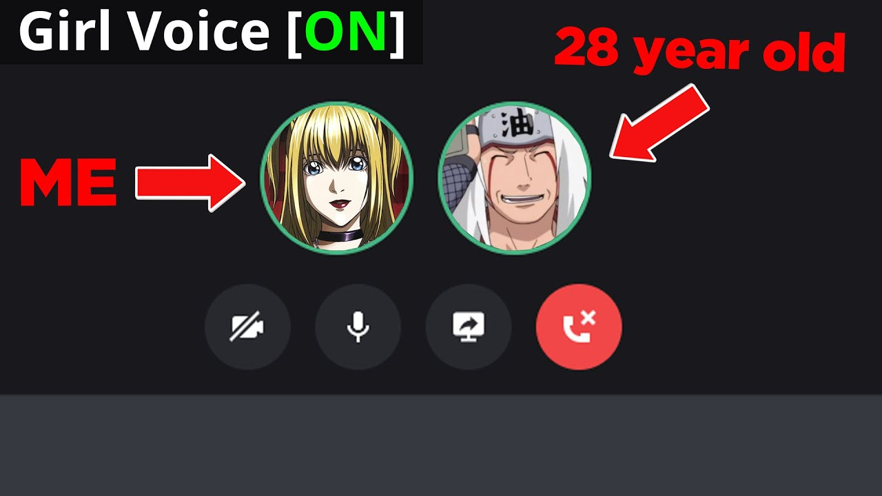 Catching a Discord Predator With a Girl Voice Changer!