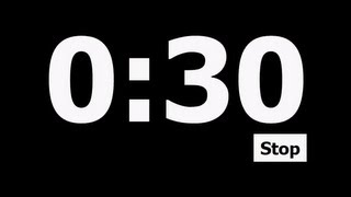 30 Second Countdown Timer