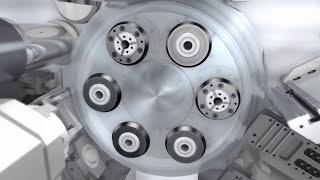 Multi-spindle automatic lathe INDEX MS16 Plus - Flexible machining & highest productivity