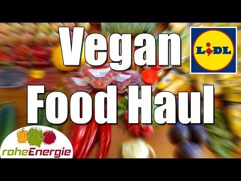 VEGAN FOOD HAUL bei Lidl