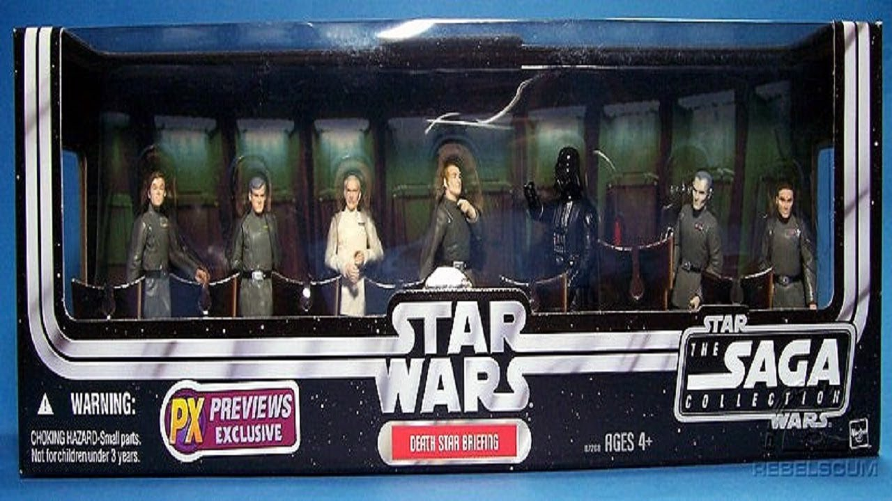 Death Star Briefing Room Boxed Set