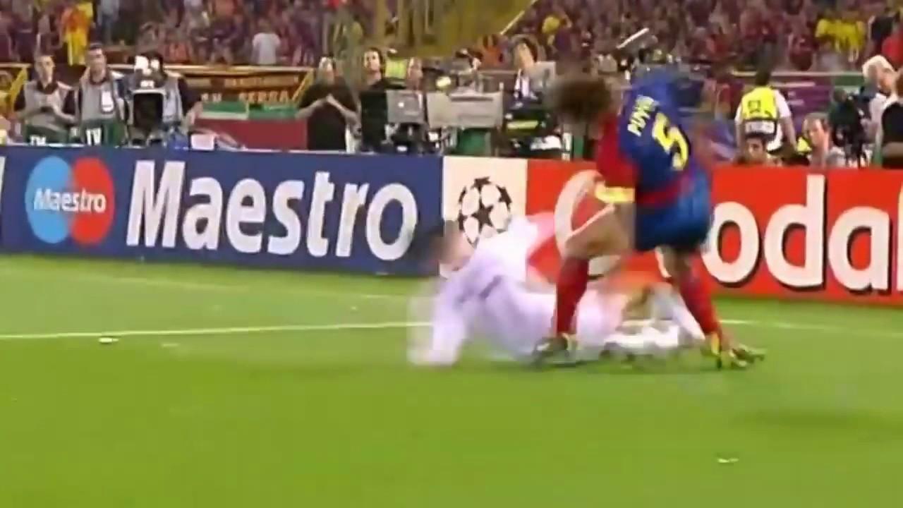 نهائي مجنون برشلونة مانشستر يونايتد 2 0 نهائي الدوري الأبطال 2009