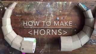 Cardboard Horns