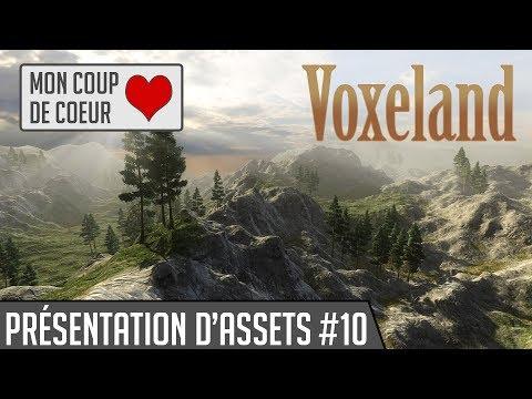 Présentation d'assets #10: Voxeland (Mon coup de cœur) [Unity3D]