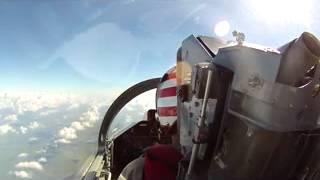 L39 training flight