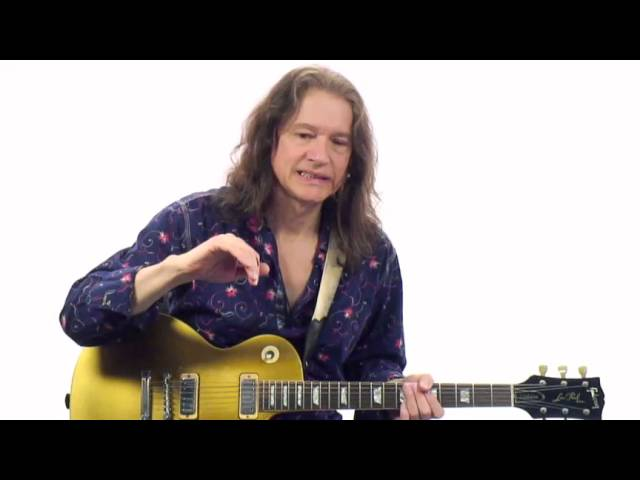 Robben Ford Guitar Lesson Jazz Blues Chords With