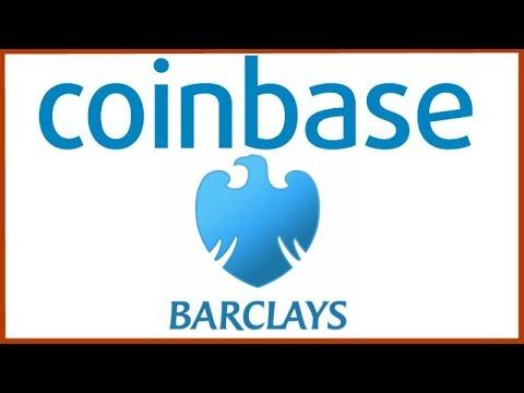 Coinbase Partners with British Bank Barclays - Bullish News!