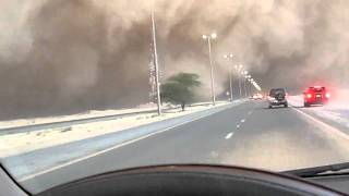 Driving into a Sandstorm of Epic Proportions: Kuwait 2011