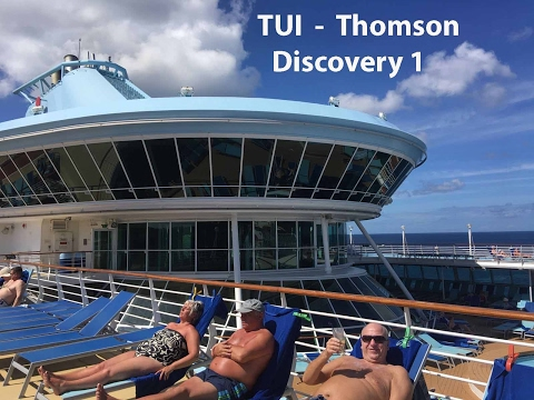 TUI Thomson Discovery Cruise Ship & Sea Breeze Beach Hotel Barbados Jan-Feb 2017