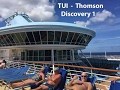 TUI Thomson Discovery Cruise Ship & Sea Breeze Beach Hotel Barbados Jan-Feb 2017